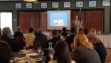Chiropractor Chesterfield MI Dr Eric DiMartino Nutrition Workshop Rotary Club